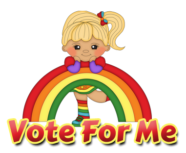 Vote For Me : Sweet N Sassy Clipart.