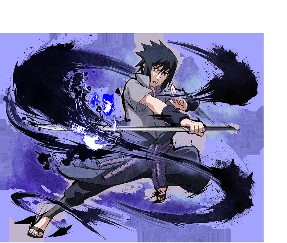 Download Free png Sasuke Uchiha render [Ultimate Ninja.