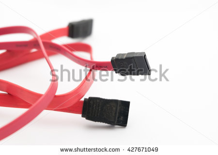 Sata Cable Stock Photos, Royalty.