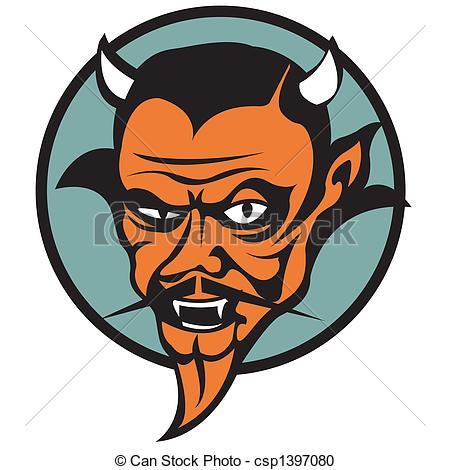 Vector Clip Art de Diablo, arte, Clip, mal, gráfico, satanás.