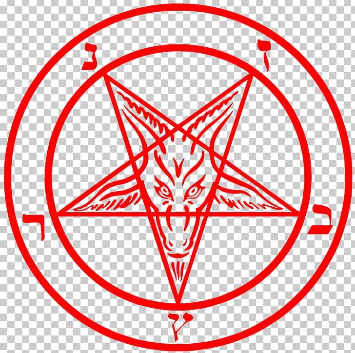 Lucifer Church Of Satan Sigil Of Baphomet Pentagram PNG.