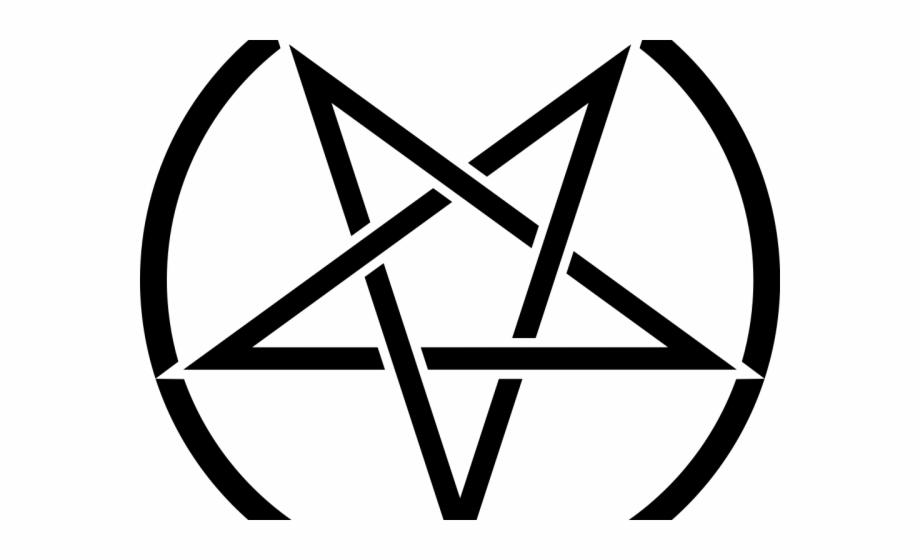 Satanic Clipart Star.