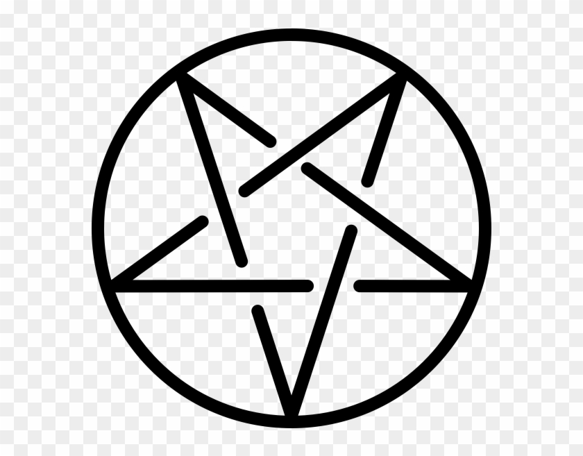Satanic Pentagram Transparent, HD Png Download.