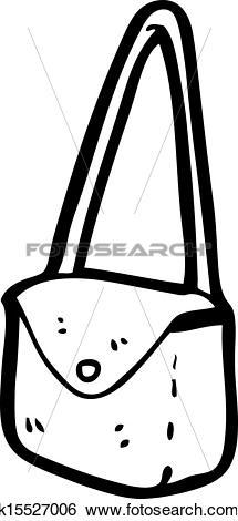 Clip Art of cartoon satchel k15527006.