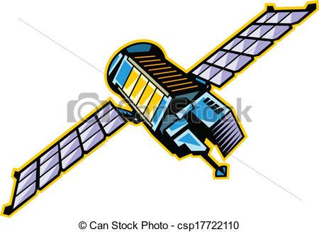 Satellite Clip Art.