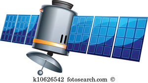 Earth satellite Clipart Vector Graphics. 4,730 earth satellite EPS.