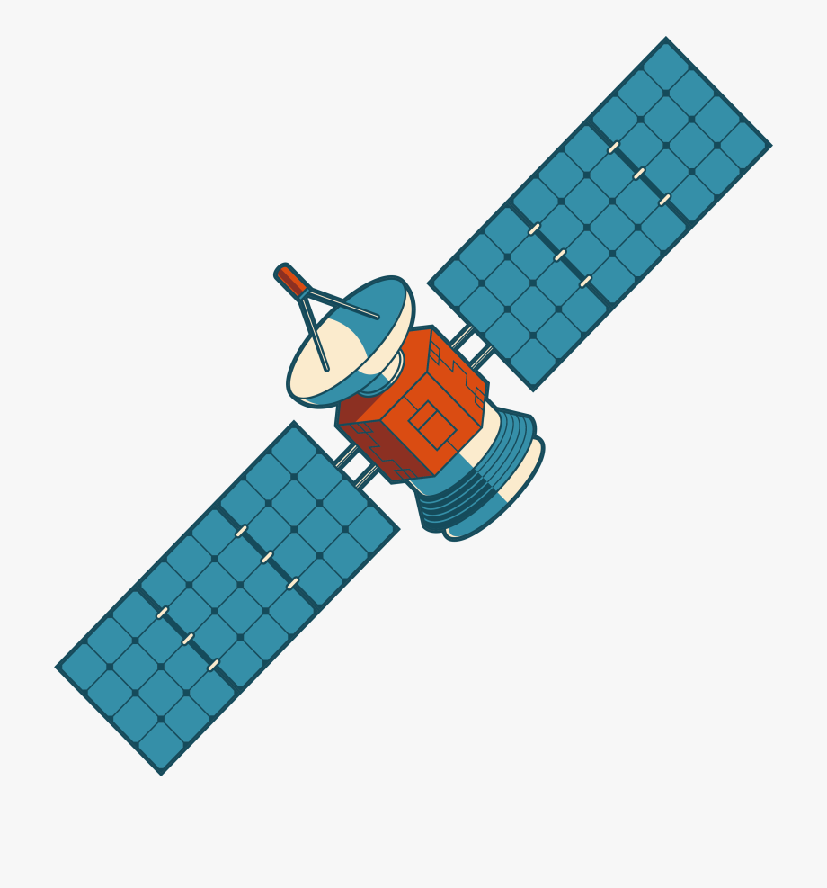 Collection Of 14 Free Space Clipart Satelite Crabs.