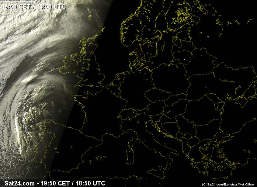 Weather Europe, Satellite Weather Europe, Weather Forecast.