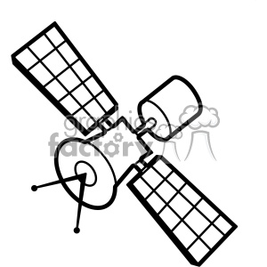 satellite clipart.