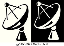 Satellite Dish Clip Art.