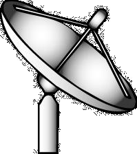 Free to Use Public Domain Satellite Dish Clip Art.