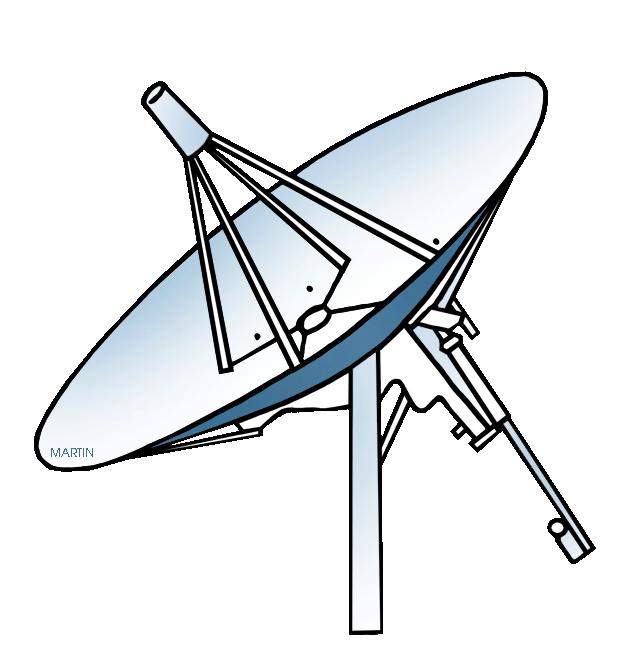 784 Satellite free clipart.