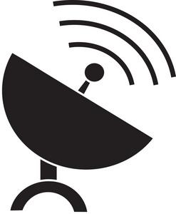 Satellite dish clipart » Clipart Station.