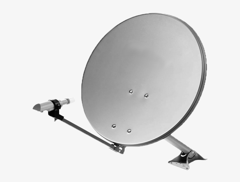Satellite Dish Transparent Background PNG Image.