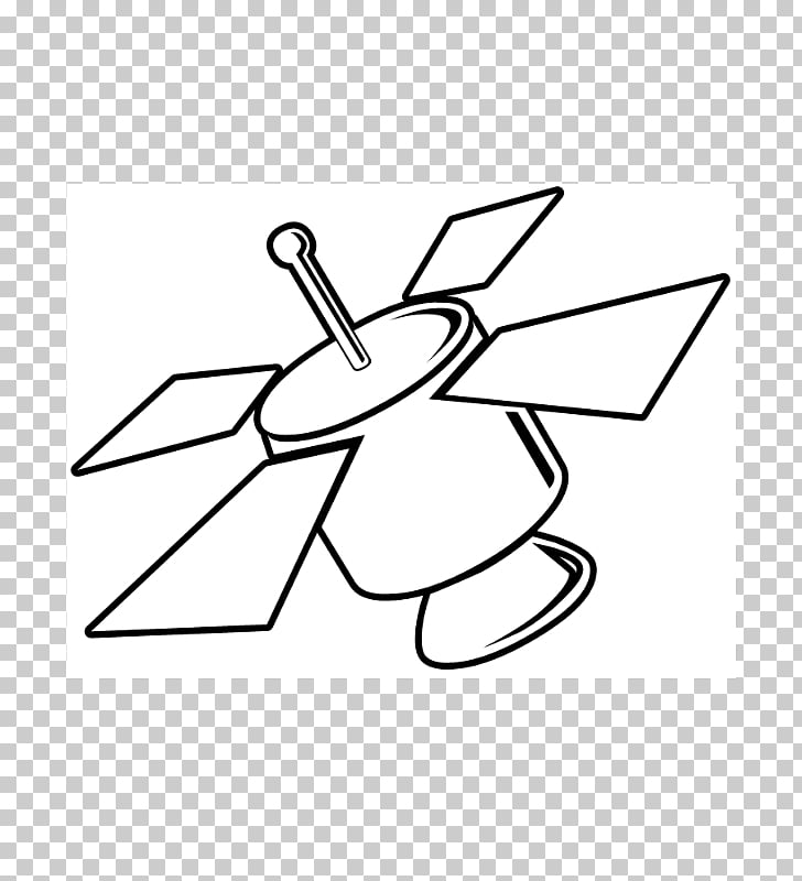 Communications satellite Drawing , cartoon satellite PNG.