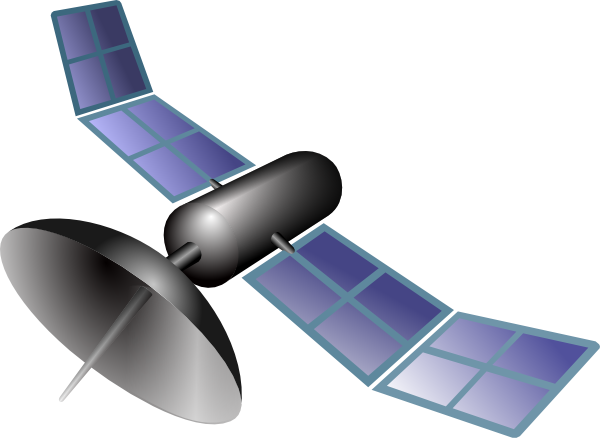 Clipart gps satellite.
