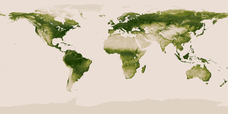 New Satellite Map from NASA and NOAA Shows All the World\'s.