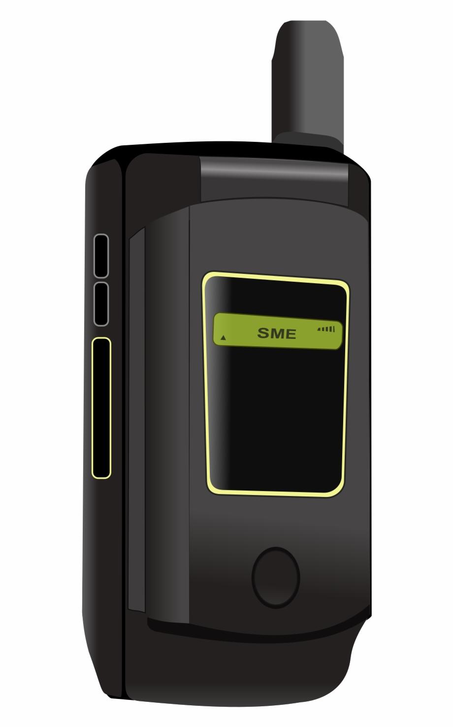 Mobile Clipart Satellite Phone.
