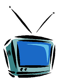 Satellite TV Clip Art.
