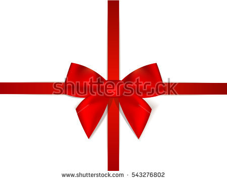 Red Satin Ribbon Stock Photos, Royalty.