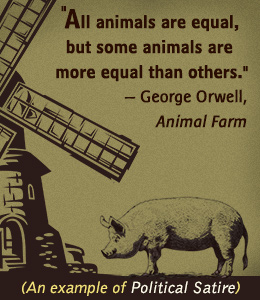 the true meaning of animal farm