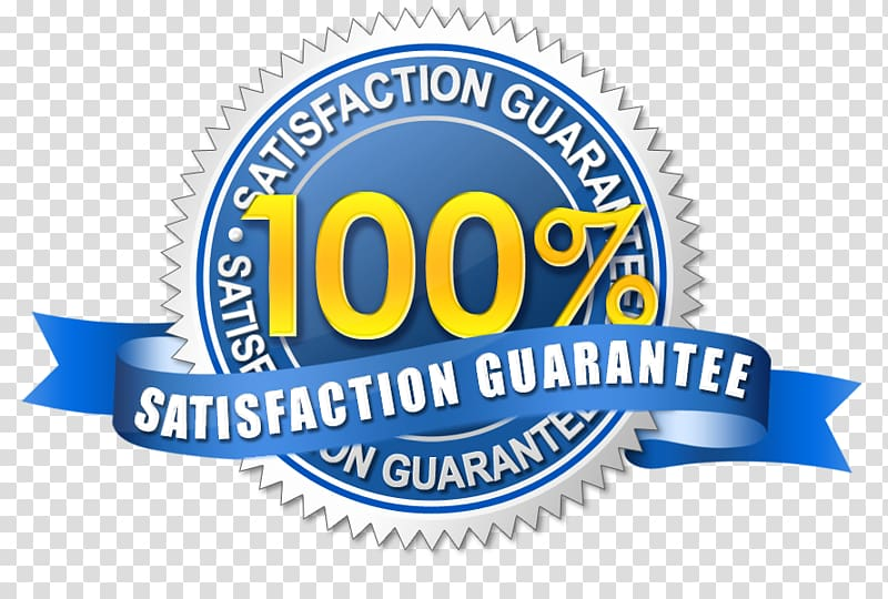 Money back guarantee Customer satisfaction Contentment.