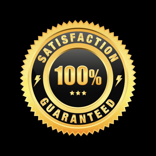 HD 100% Satisfaction Guarantee.