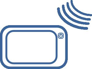 Gps Navigation Signal Icon Clip Art at Clker.com.