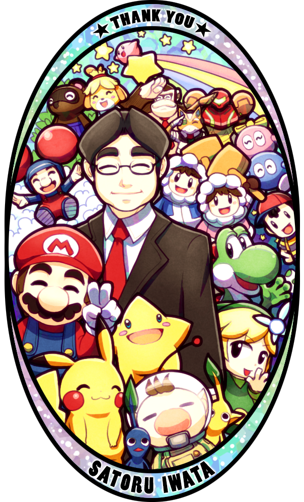 To Mr Iwata by Quas.