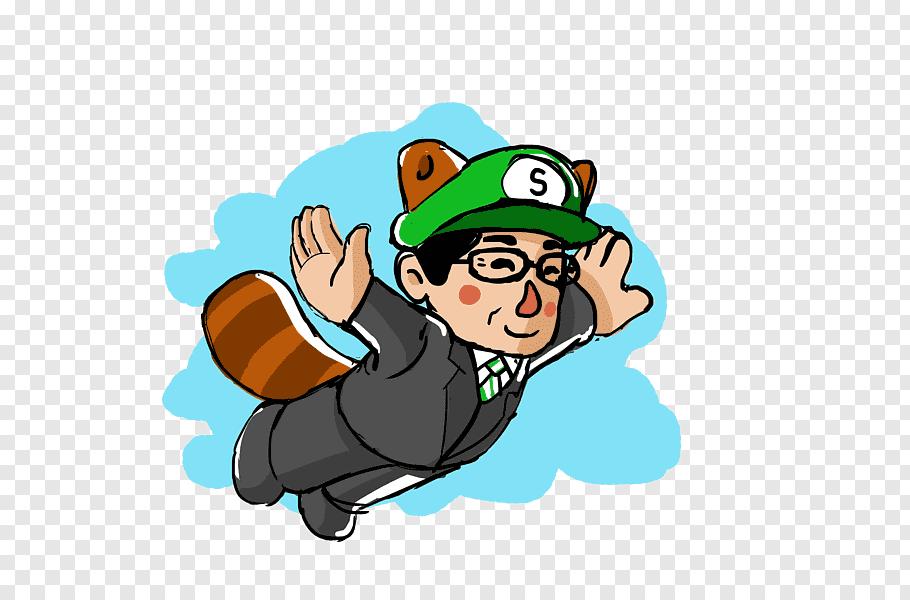 Satoru Iwata Super Mario Bros. Video game Drawing, Tribute.