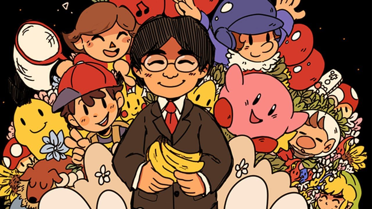 Satoru Iwata died a year ago from today and everyone is too.