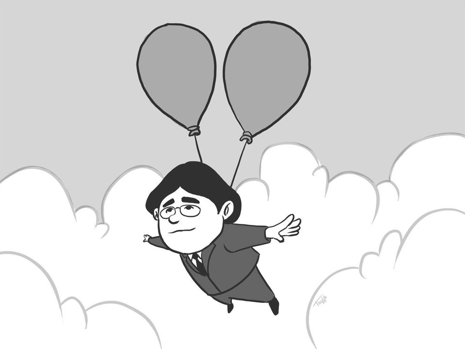 The Japanese Games Industry Mourns The Passing Of Satoru Iwata.