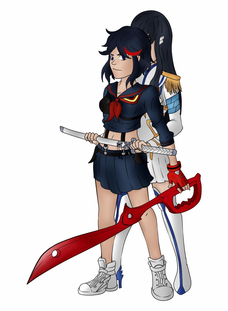 Ryuko Matoi And Satsuki Kiryuin.