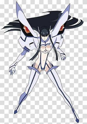 Ryuko Matoi Satsuki Kiryuin Anime Junketsu Character, Anime.