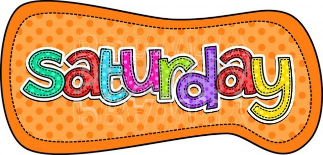 Saturday clipart free 6 » Clipart Portal.