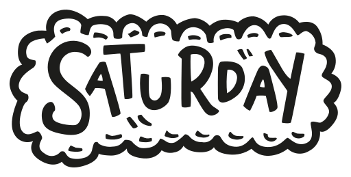 Saturday Icon Free of Planner Elements Basic.