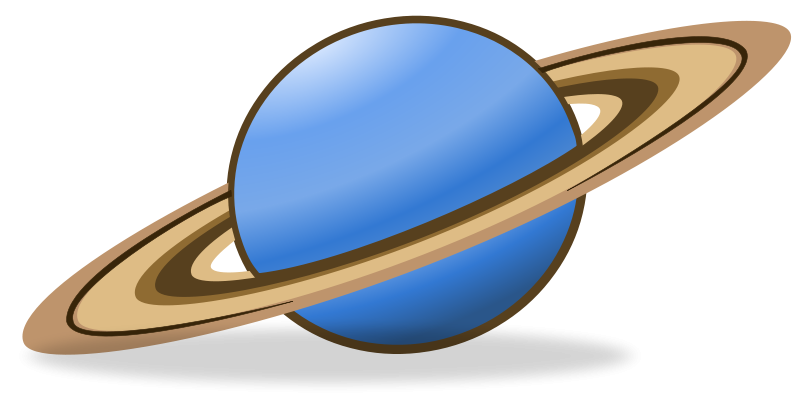 Free Clipart: Saturn Icon.