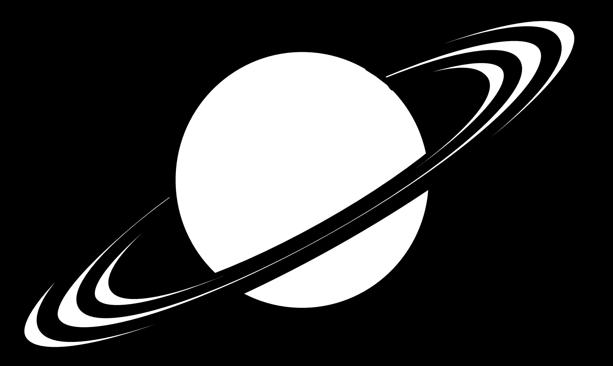Saturn Clipart Page 1.