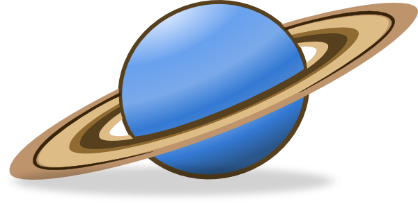 Saturn Clip Art.