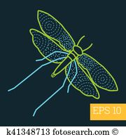 Saturniidae Clipart Vector Graphics. 6 saturniidae EPS clip art.