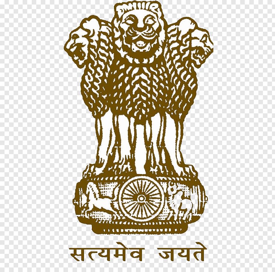 3 lion logo, Lion Capital of Ashoka Sarnath Pillars of.