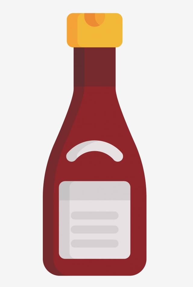 Soy Sauce Seasoning Bottle, Bottle, Seasoning, Soy Sauce PNG.