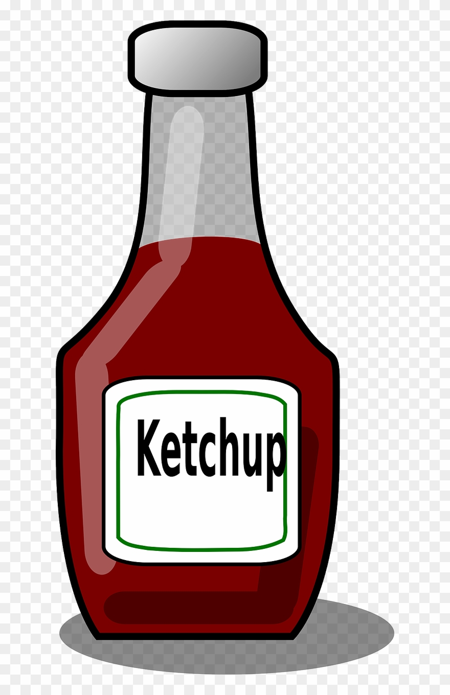 Ketchup Sauce Tomato Hot Bottle Png Image.