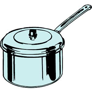 Saucepan Clipart.