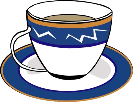 Clipart Cup And Saucer.