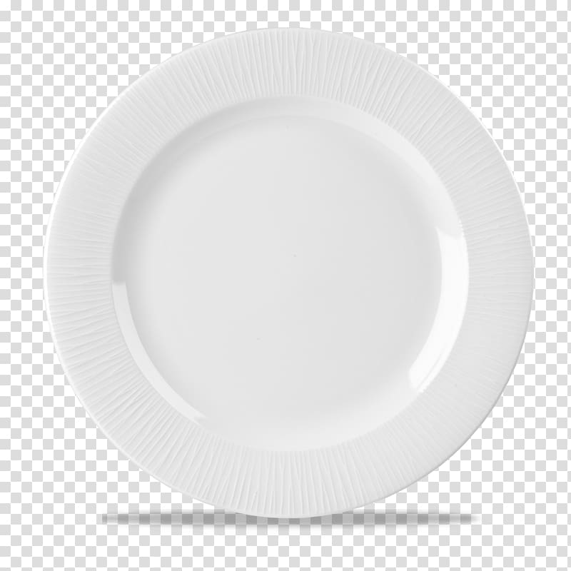 Top view of white ceramic plate, Plate Tableware Saucer.
