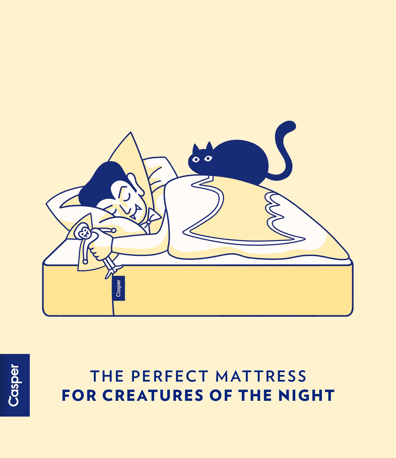 Casper: the perfect mattress for birders..