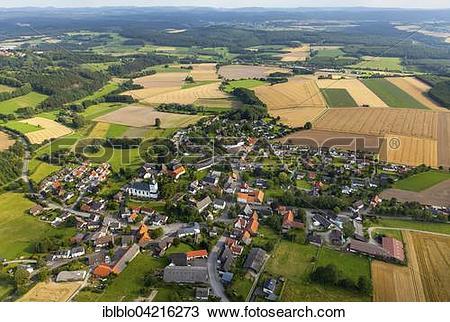 Stock Photo of Altenruthen, Sauerland, North Rhine.