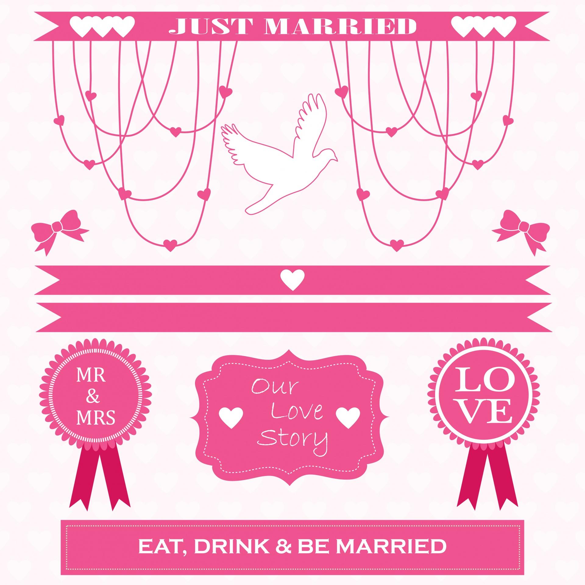 Wedding Card Free Stock Photo.