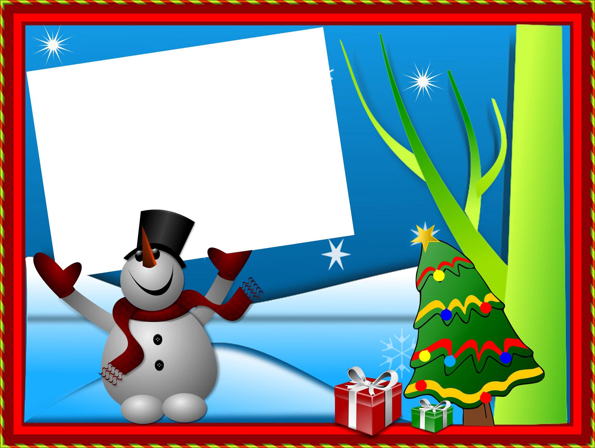 Christmas Card Free Stock Photo.